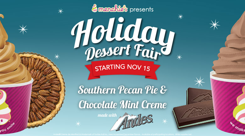 Starting November 15th - Holiday Dessert Fair