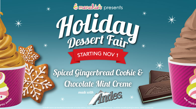 Starting November 1st - Holiday Dessert Fair