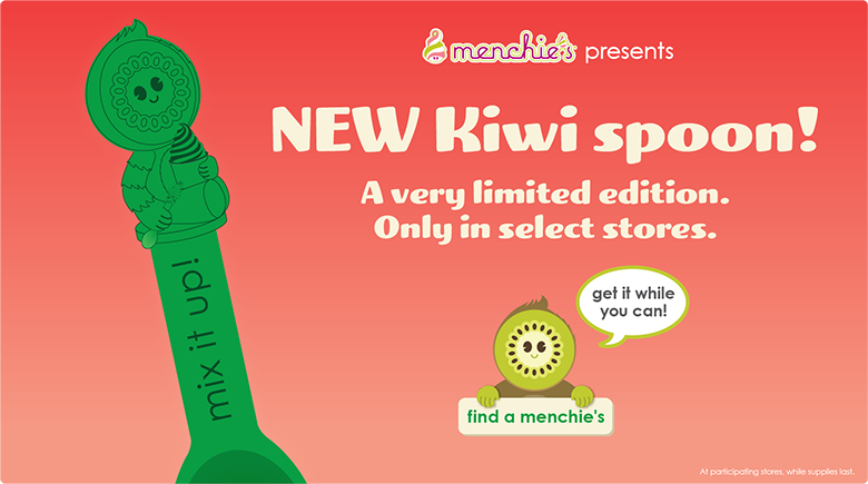 New Kiwi spoon! A very limited edition. Only in select stores. Get it while you can!