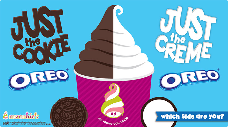 Oreo flavors - Just the cookie and just the cookie. Which side are you?