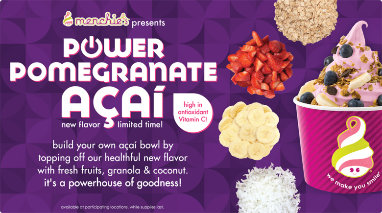 Featured Flavor - Power Pomegranate Acai