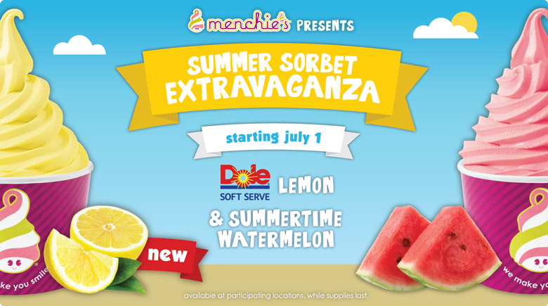Featured Flavor - Summer Sorbet Extravaganza
