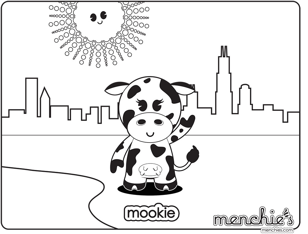 Mookie Coloring sheets