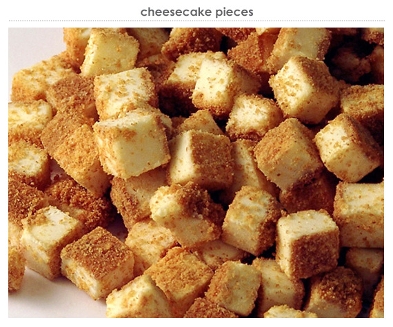 cheesecake pieces