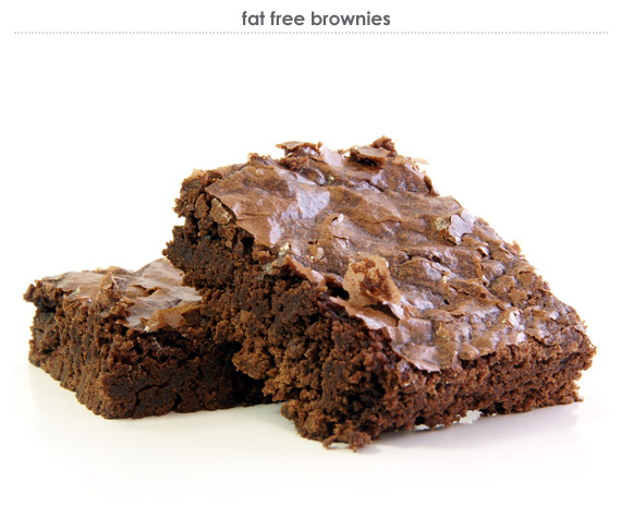 fat free brownies