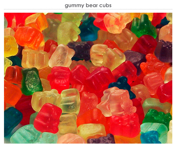 gummy bear cubs