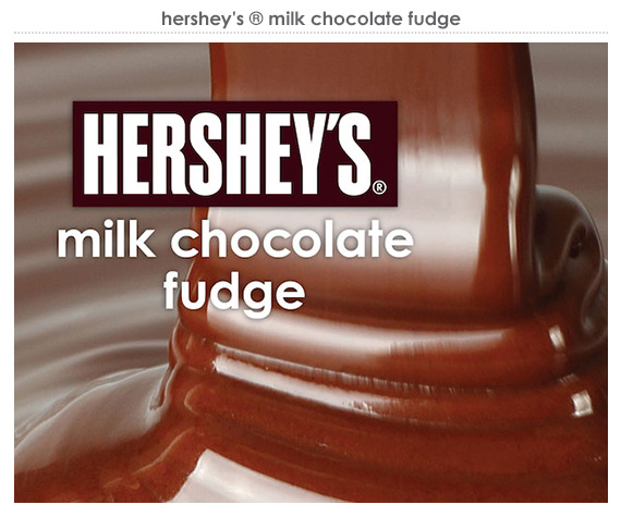 hershey's® milk chocolate fudge