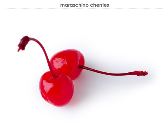 maraschino cherries