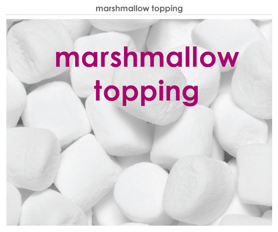 marshmallow topping