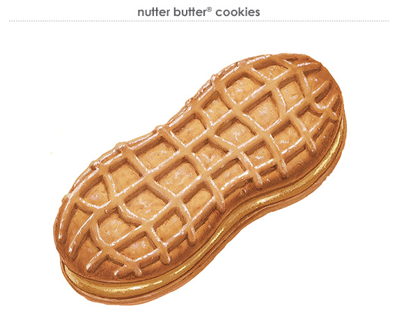 nutter butter® cookies