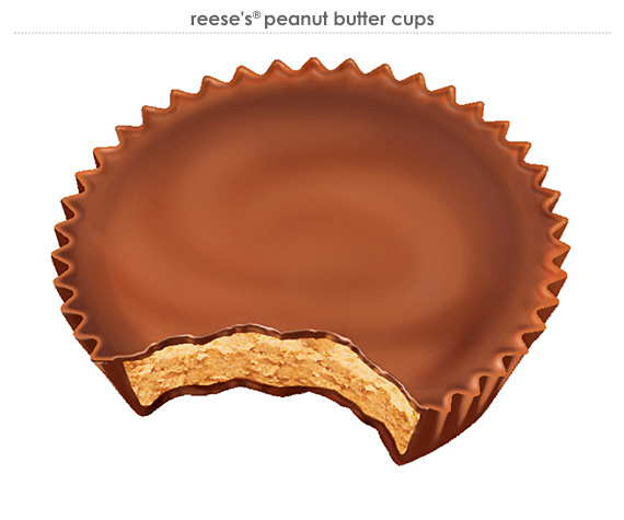reese's® peanut butter cups