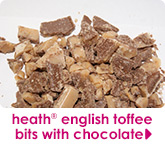 heath® english toffee bits with chocolate