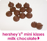 hershey's® mini kisses milk chocolate
