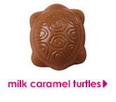 milk caramel turtles
